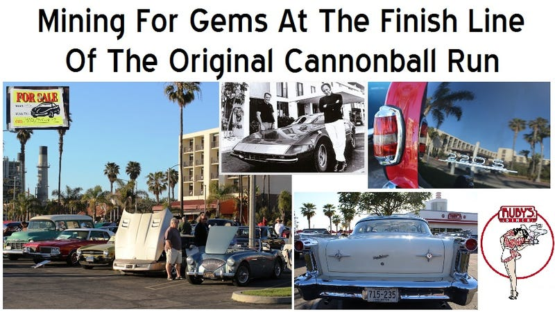 Illustration for article titled Mining For Gems At The Finish Line Of The Original Cannonball Run