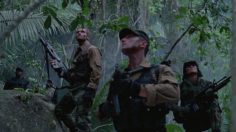 Screencap from Predator (20th Century Fox)
