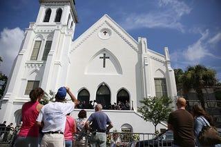 Emanual African Methodist Episcopal Church in Charleston, S.C. (Joe Raedle/Getty Images)