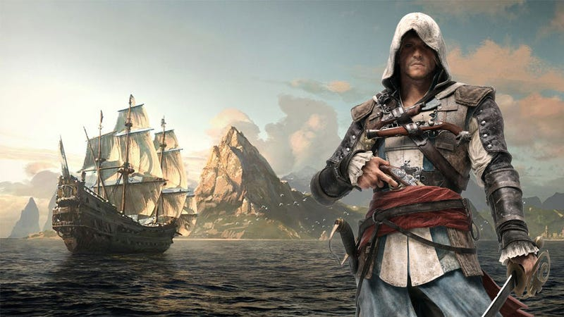 Illustration for article titled Be Excited About Assassin's Creed IV. And Be Skeptical.