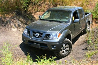 Illustration for article titled 2009 Nissan Frontier PRO4X: First Drive