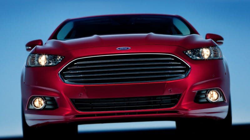 Illustration for article titled 2013 Ford Fusion: Open Wide And Say Hot