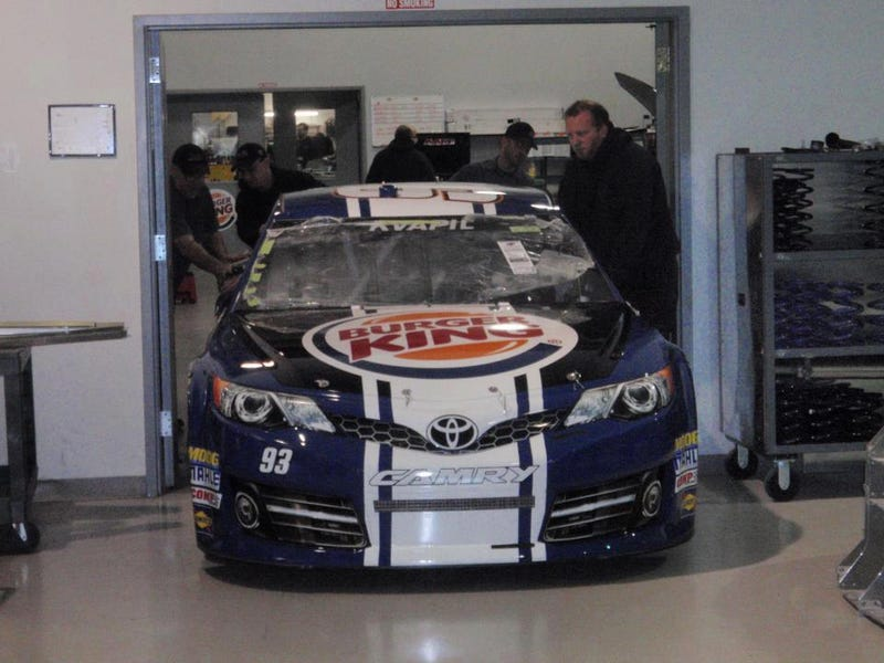 Illustration for article titled FIRST LOOK: BK Racing changes livery for 2013