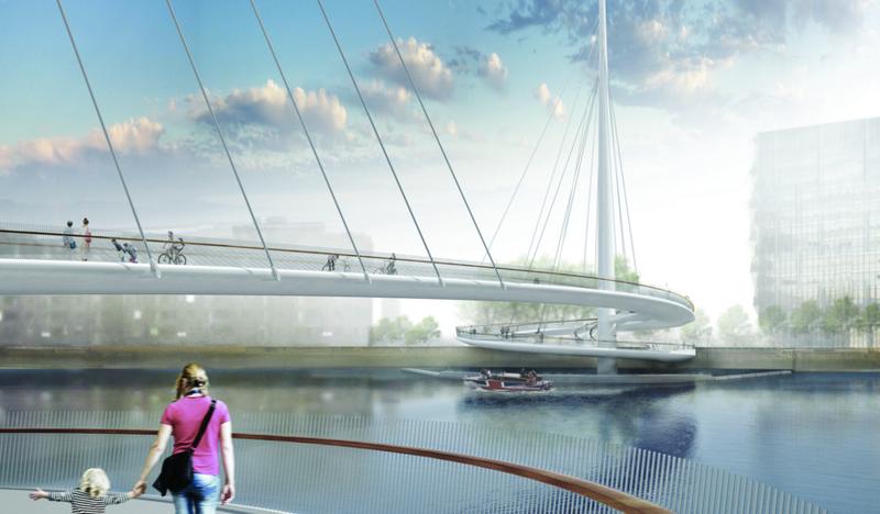 Illustration for article titled Una obra maestra de la ingeniería: así será el nuevo puente peatonal de Londres