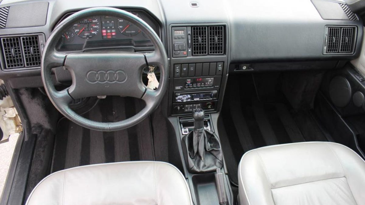 Used Car Face Off: Save The Audi 5000s