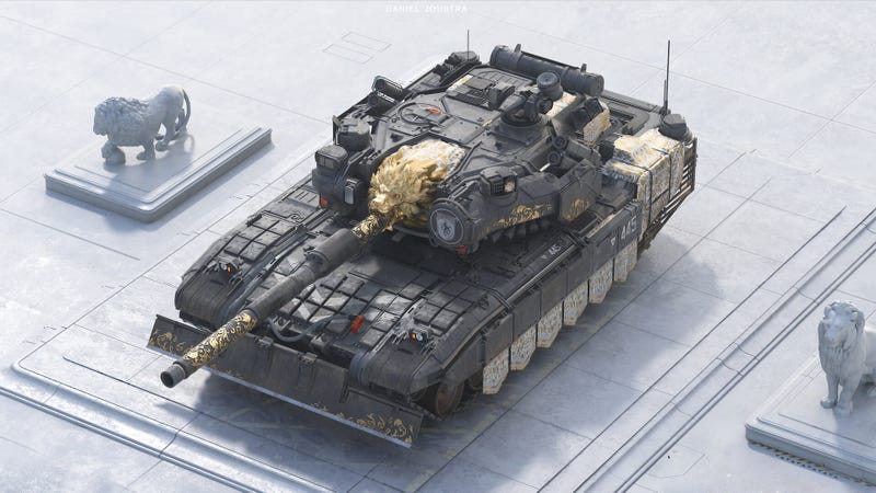 Illustration for article titled The Most Beautiful Tank In The World