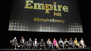 Cast and crew of Empire onstage at Fox's Empire ATAS Academy Event at the Theatre at the Ace Hotel on March 12, 2015, in Los AngelesAngela Weiss/Getty Images