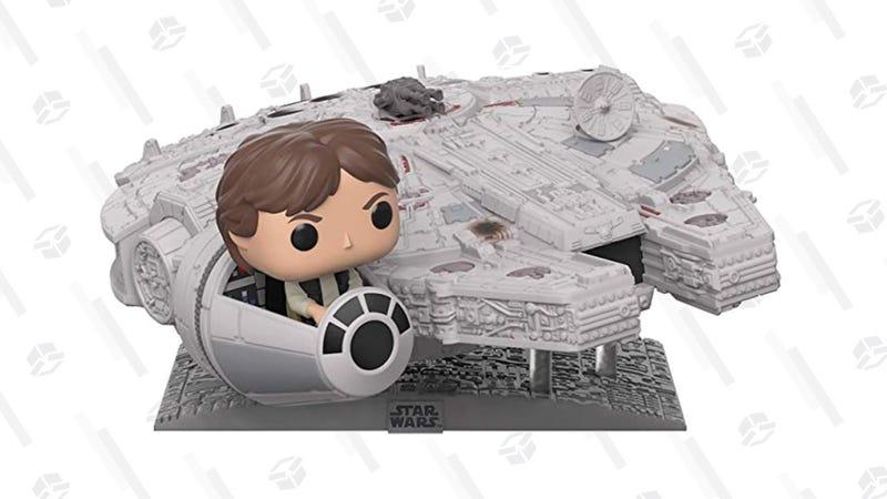 Funko Pop! Millennium Falcon with Han Solo