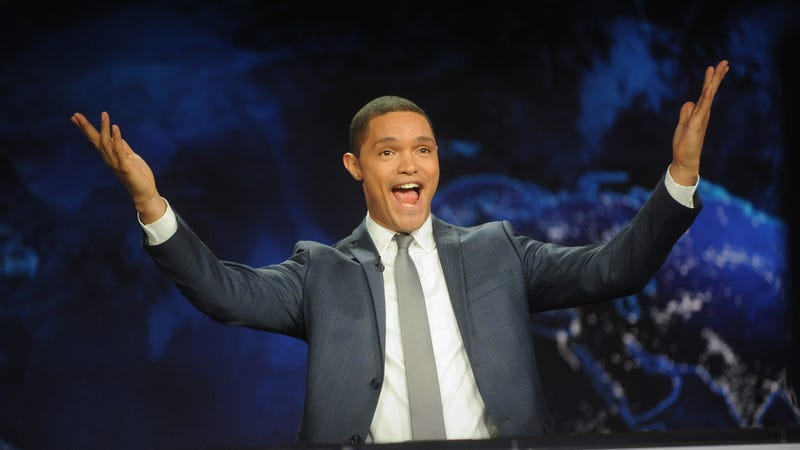Illustration for article titled Trevor Noah had a cameo in Black Panther that people are only just noticing