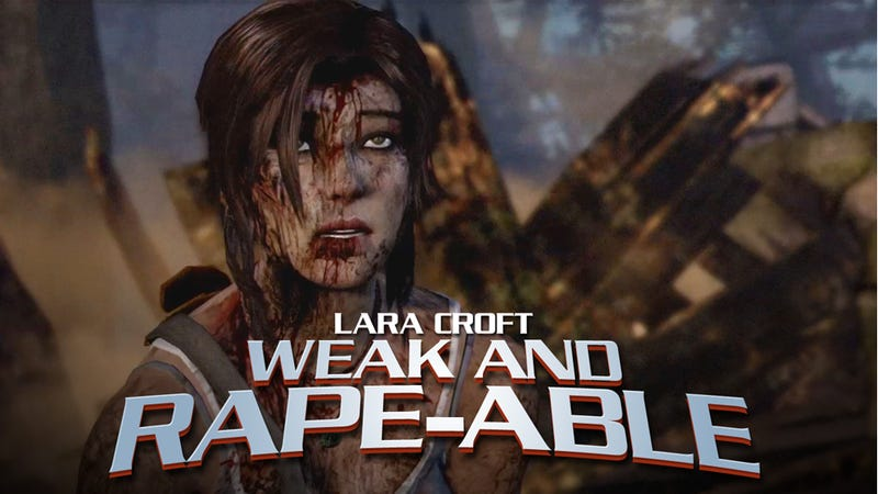Illustration for article titled The Rapey Lara Croft Reboot Is a Fucked-Up Freudian Field Day