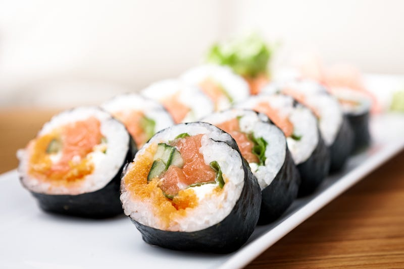 5 Ways To Roll Sushi Without A Mat And Barely Have To Touch Raw Fish