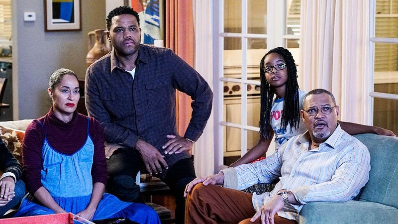 Black-ish, a show whose authentic portrayal of the black experience has been praised by critics. (Photo: ABC)