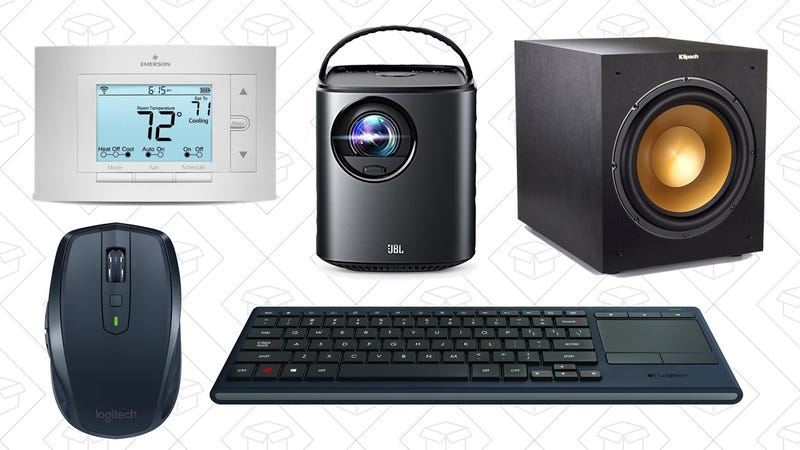 Illustration for article titled Wednesday's Top Deals: Logitech Gold Box, Nebula Mars Projector, Sensi Thermostat, and More