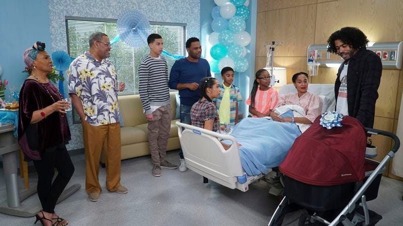 Illustration for article titled Black-ish welcomes a new family member in a fast-paced finale