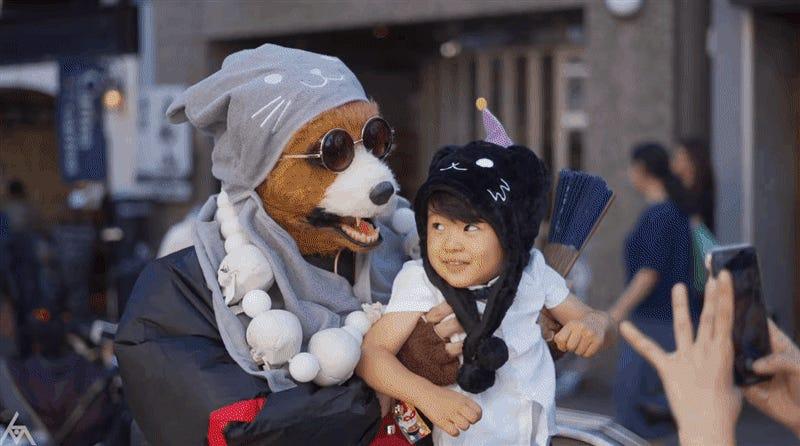 El festival del gato monstruo es una razón más para visitar Japón (por si no tenías suficientes)