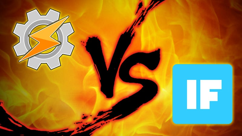 Android Automation Showdown: IFTTT vs  Tasker