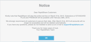 Illustration for article titled Another One of the Most Popular File-Sharing Sites Is Getting Shut Down