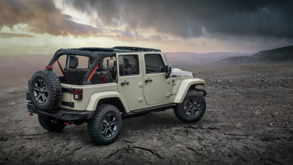 Why The Jeep Wrangler Rubicon Recon Is You Want Now Pick Up 2015 Specs