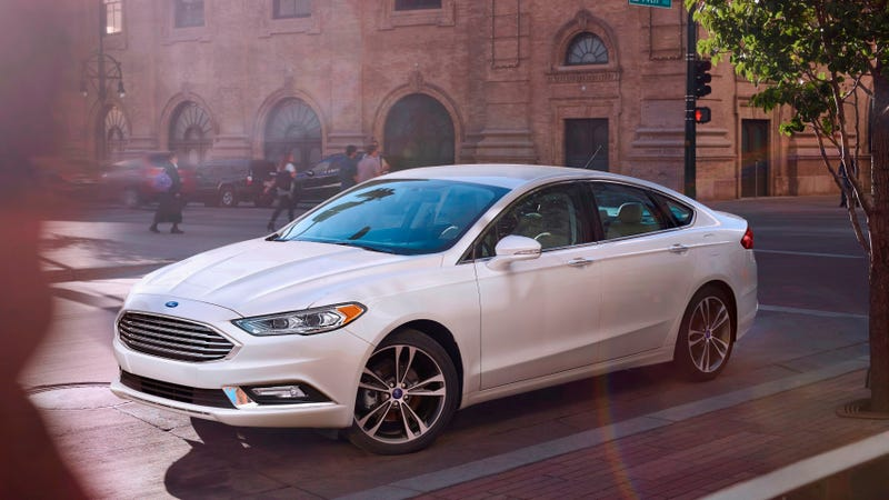 Illustration for article titled Ford Is Thinking About Giving Up On The Fusion, Focus And Fiesta In The U.S.