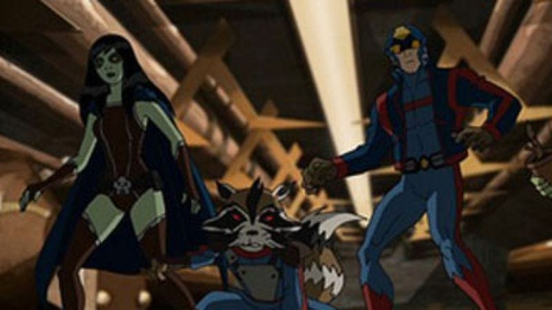 Illustration for article titled Marvel is making a Guardians Of The Galaxy animated series, will continue taking over television