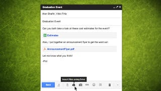 Illustration for article titled Gmail Integrates with Google Drive, Allows for Attachments Up to 10GB