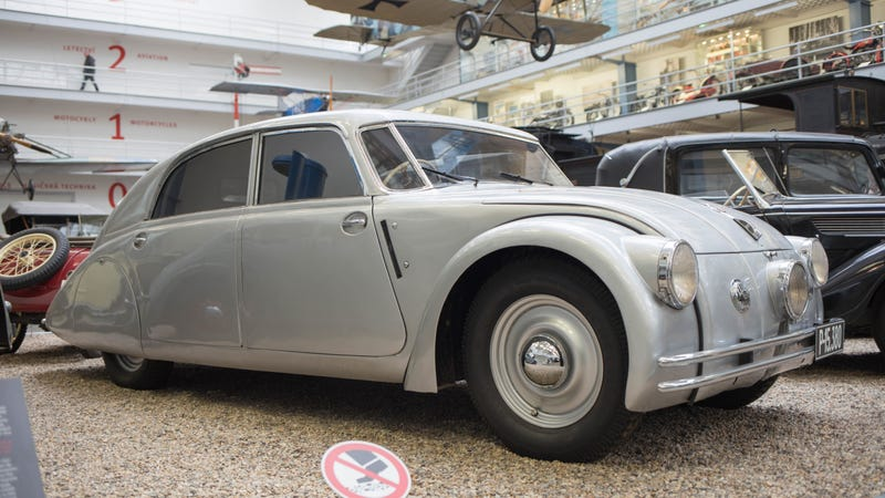 A 1937 Tatra 77a