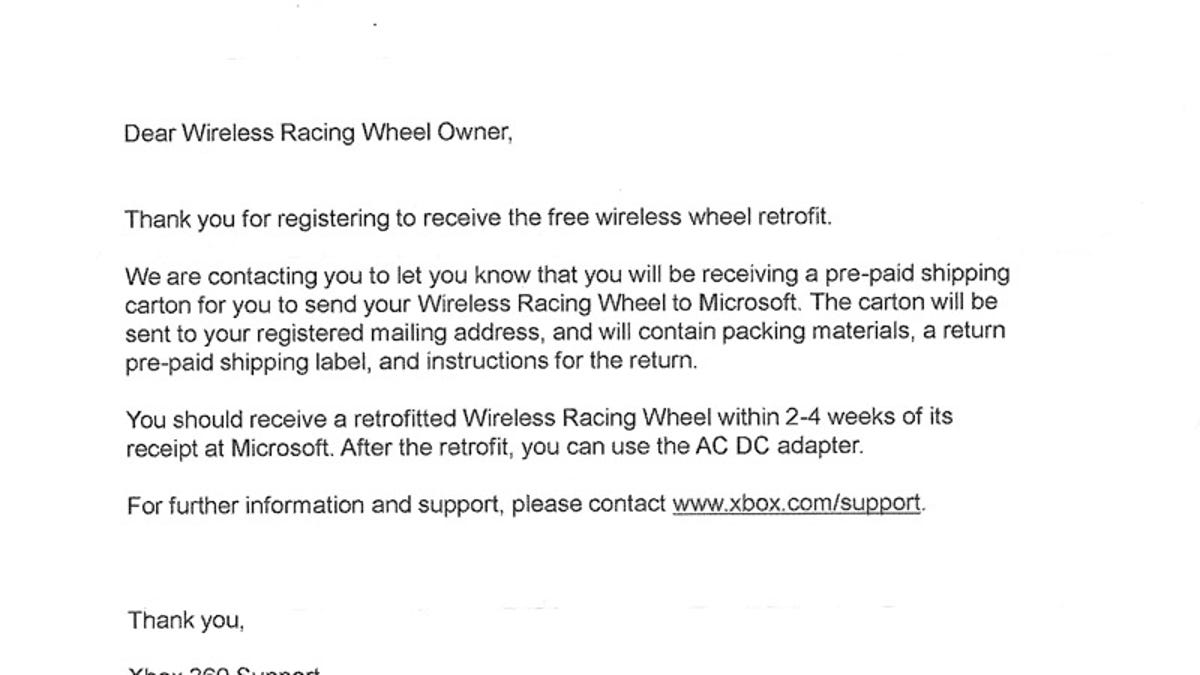 xbox 360 racing wheels not that broken return boxes coming in