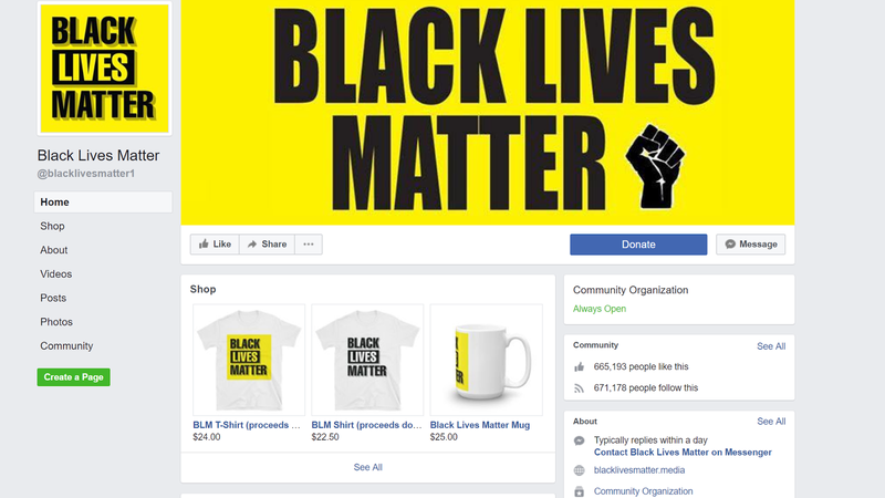Illustration for article titled Facebook's Largest Black Lives Matter Page Was Allegedly an Australian Scam