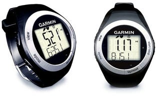 Illustration for article titled Garmin Forerunner 50 Slim Sports Watch Records Mileage and Speed