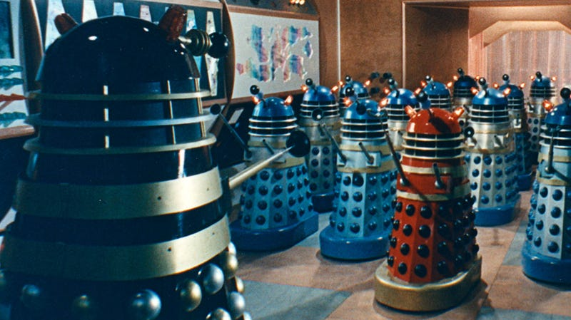 Illustration for article titled Terry Nation's Recurring Nightmare That Helped Inspire The Daleks