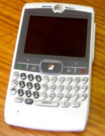 Illustration for article titled Motorola Q in White?
