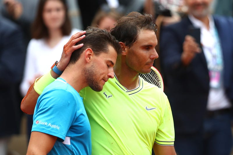 Illustration for article titled Dominic Thiem Got Closer, But Rafael Nadal Still Stepped On Him