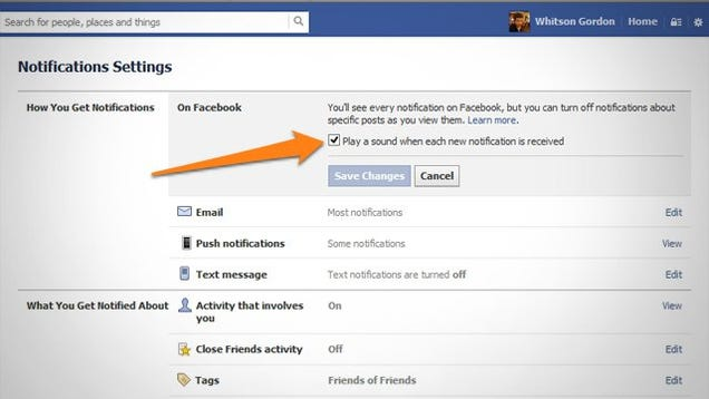 How to Stop Facebook from Making Its New Notification Sounds