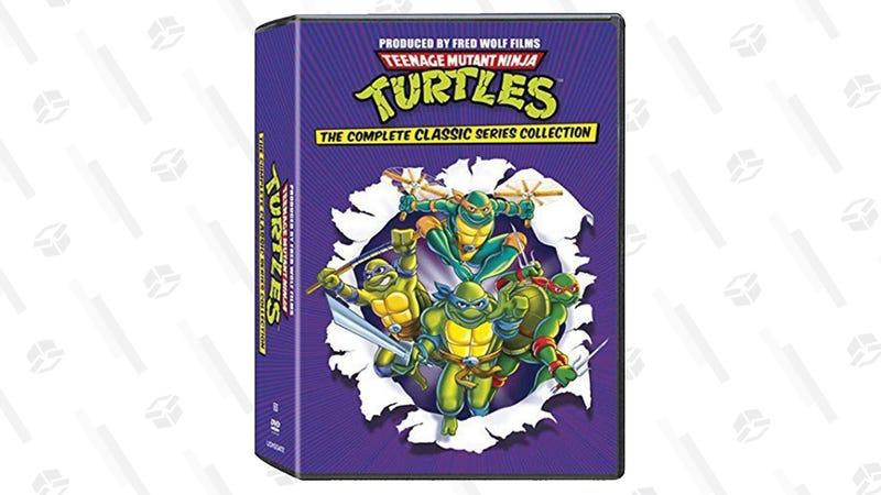 Teenage Mutant Ninja Turtles Complete Collection on DVD | $37 | Amazon