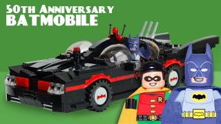 Illustration for article titled Lego, Get On This Batman '66 Batmobile Set IMMEDIATELY