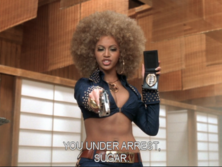 Beyoncé as Foxxy Cleopatra in the movie Austin Powers in GoldmemberTwitter