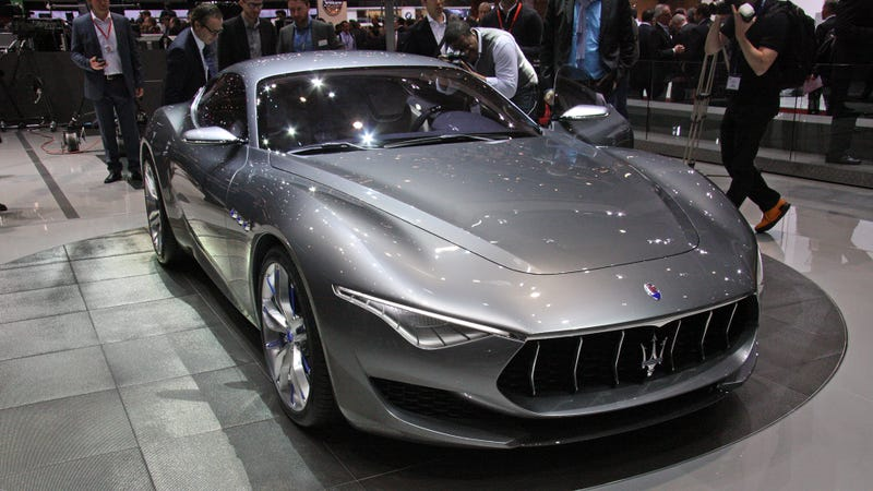 Illustration for article titled The Maserati Alfieri Is A Full On Gorgeous GranTurismo