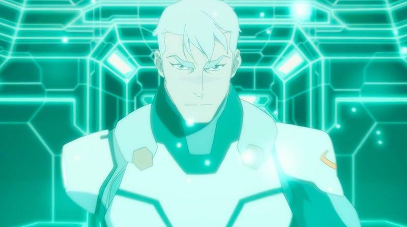 Shiro in Voltron's seventh season.