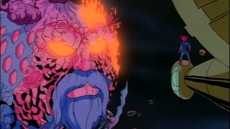 Ego as seen in Fantastic Four: The Animated Series