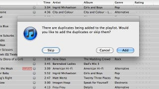 Illustration for article titled Make iTunes' Genius Mixes Suck a Little Less by Turning Them Into Regular Playlists