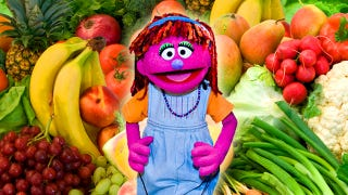 Illustration for article titled Meet Lily, Sesame Street's New 'Food Insecure' Muppet