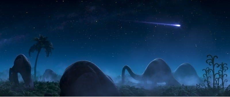 Illustration for article titled Pixar's Dino Design Kicks It Old School in The Good Dinosaur