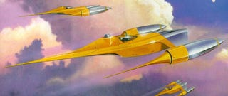 Illustration for article titled Prequel Trilogy Concept Art