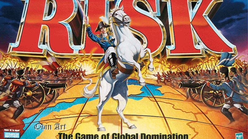 Illustration for article titled Strategic board game Risk to become strategic brand recognition-based movie