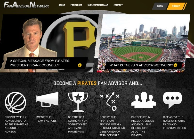 Illustration for article titled Fan Of The Pittsburgh Pirates? Prove It By Paying Them Money To Join Their Stupid Fan Club. [UPDATED]