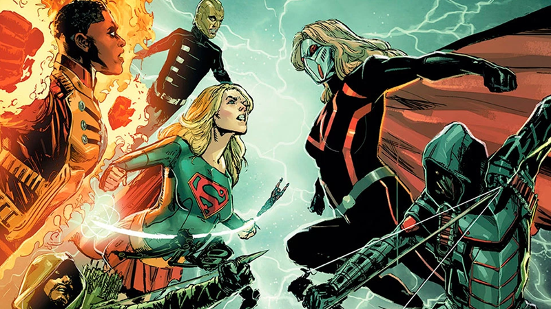 Arrowverse crossover title, artwork, details revealed