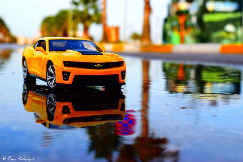 Illustration for article titled Chevrolet Camaro ZL1
