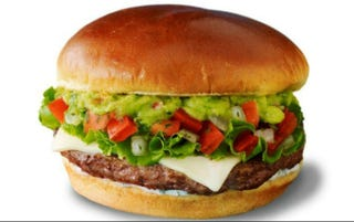 Illustration for article titled McDonald's is Test-Marketing Guacamole Burgers