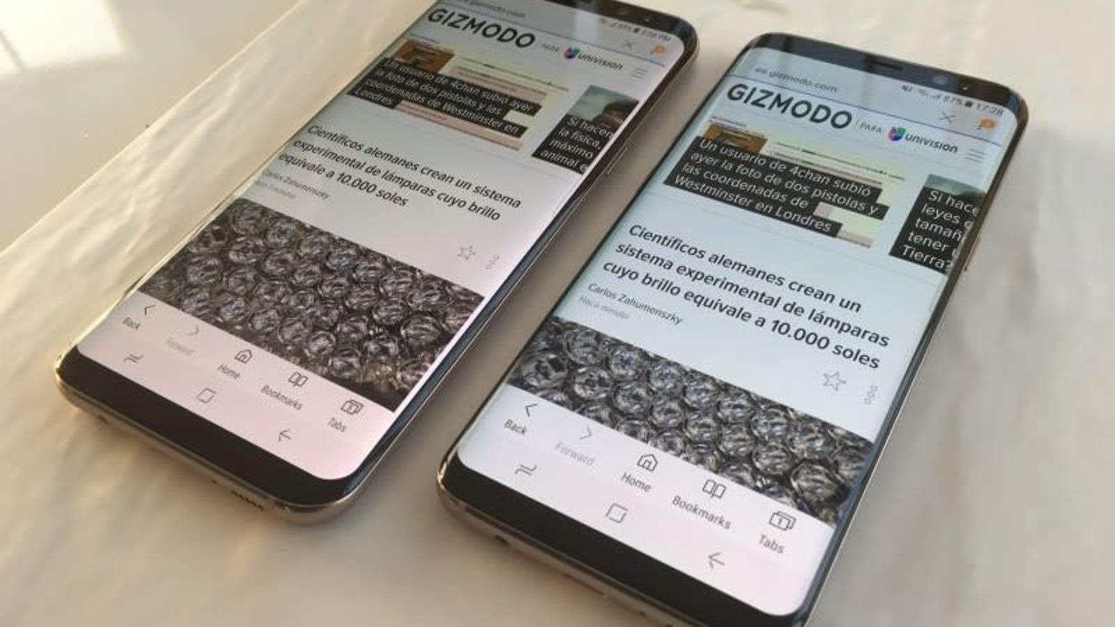 Los Samsung Galaxy S8 y Note 8 no recibirán la actualización de Android 10 (y son modelos de 2017)