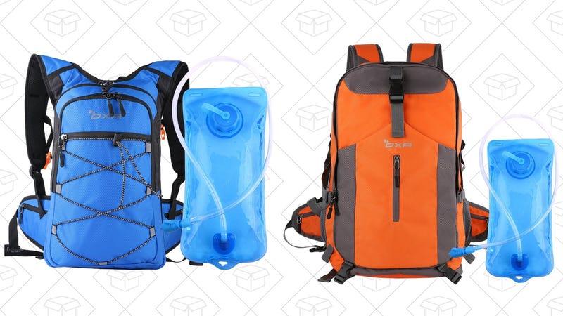 OXA Blue Hydration Pack, $21 with code NQQFHBM3 | OXA Orange Hydration Pack, $31 with code OBOAGZL2